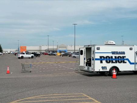 Shooting confirmed in Weslaco Walmart parking lot, investigation underway