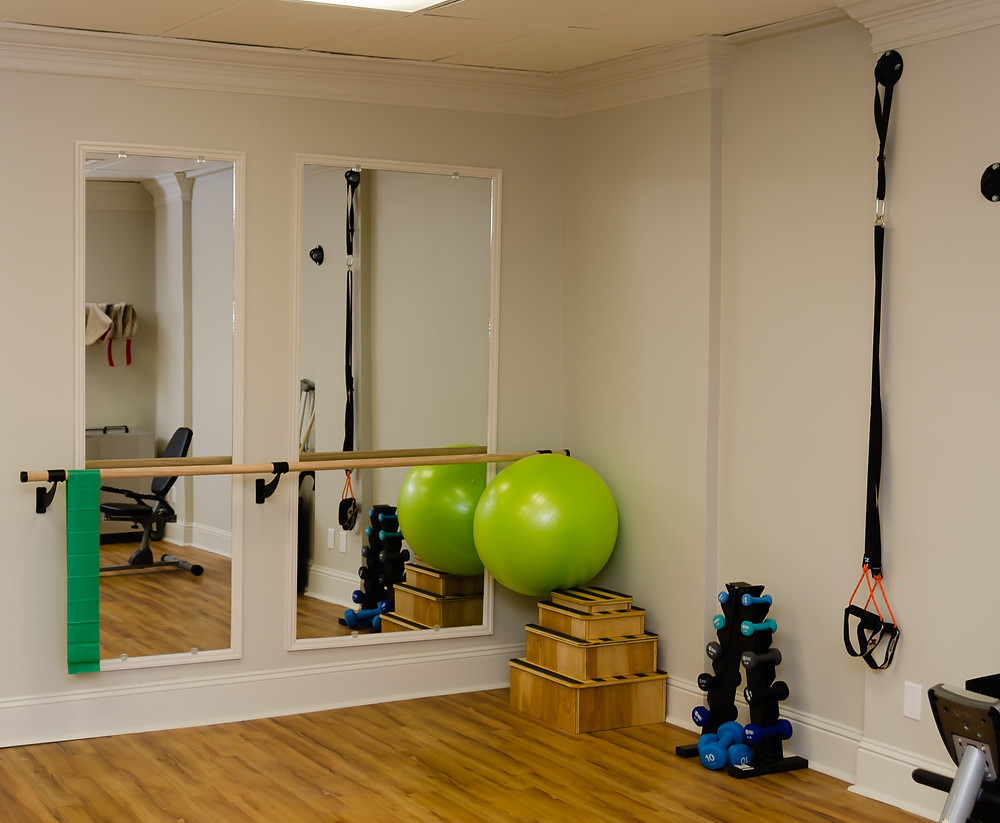 physical therapy, gym, treatment