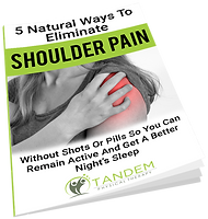 5 Ways to Eliminate Shoulder Pain - Free Report