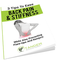 3 Tips to Ease Back Pain and Stiffness - Free Report