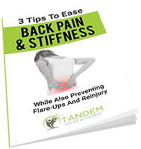 3 Tips to Ease Back Pain and Stiffness