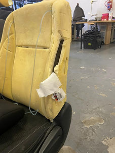 Recovered Popped Airbag_Before Smart Systems Solutions