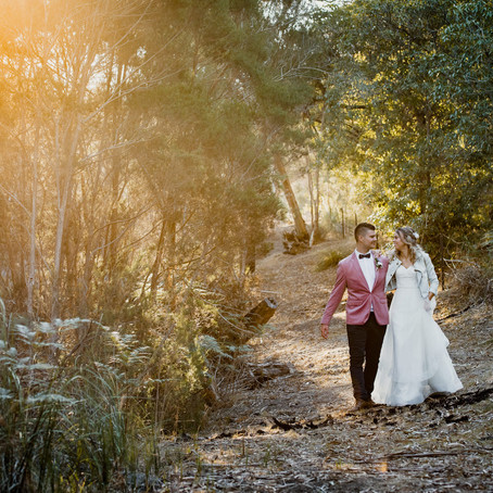 Danii & Luke- Peacock Estate Wedding, Tyabb