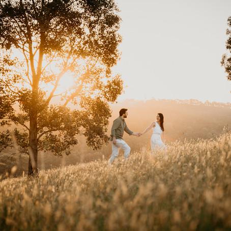 Michelle & Dave- Wonga Park Engagement
