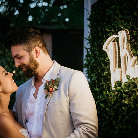 Michelle & Dave- Peacock Estate Wedding