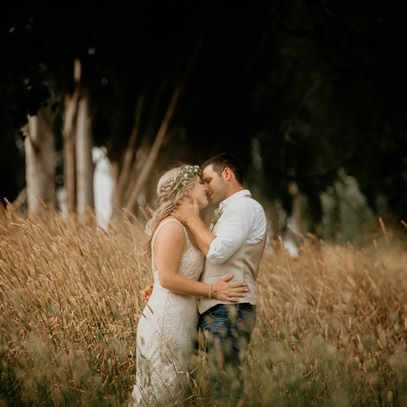 Bec & Dave- The Farmer's Daughter Farm, Yarra Valley