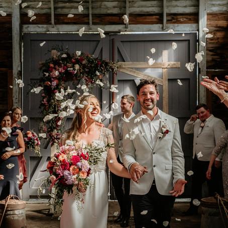 Bec & Rowan- Olinda Yarra Farm Wedding, Yarra Valley