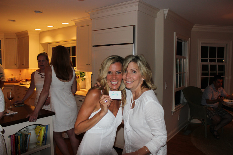 Were you seen at the White Party?