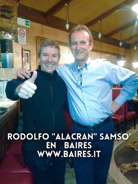 """Rodolfo """"Alacran"""" Samsò"""