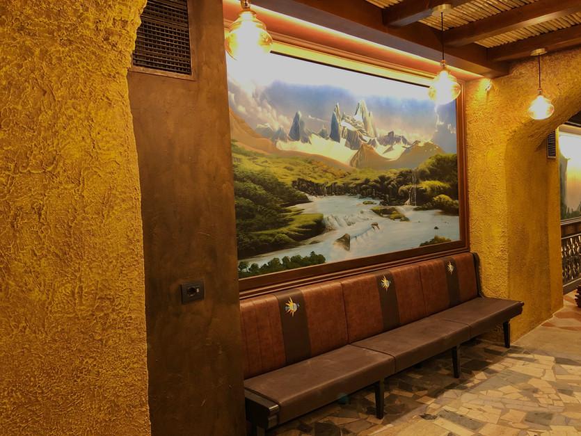 "Sala ""Fitz Roy e Torres del Paine"""