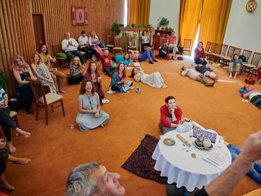Akášické vhledy - sál