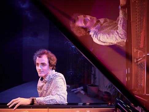 Kamil EL-AHMAIDE - koncert na Steinway & Sons v hudebním chrámu KALIMETA