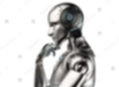 stock-photo--d-rendering-ai-robot-think-
