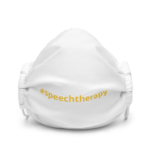 All-Over Print Premium Face Mask #speechtherapy