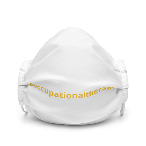 All-Over Print Premium Face Mask-#occupationaltherapy