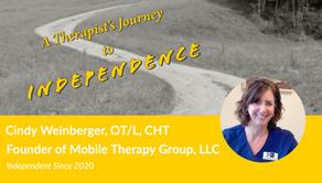 Meet Cindy Weinberger, OT/L, CHT
