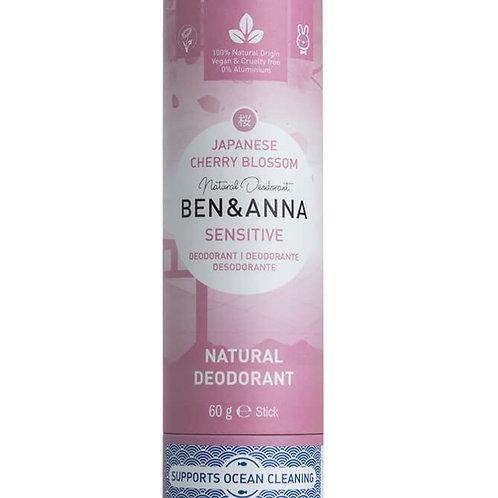Ben &Anna sensitive Deostick Cherry Blossom