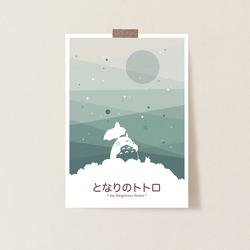 Ghibli Postkarte 'My Neighbour Totoro'