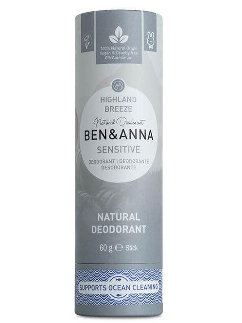 Ben & Anna sensitive Deostick Highland Breeze