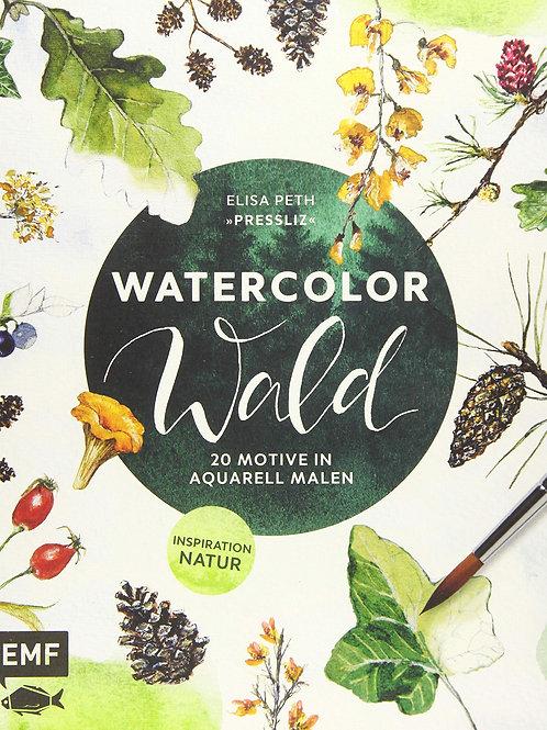 Watercolor Wald