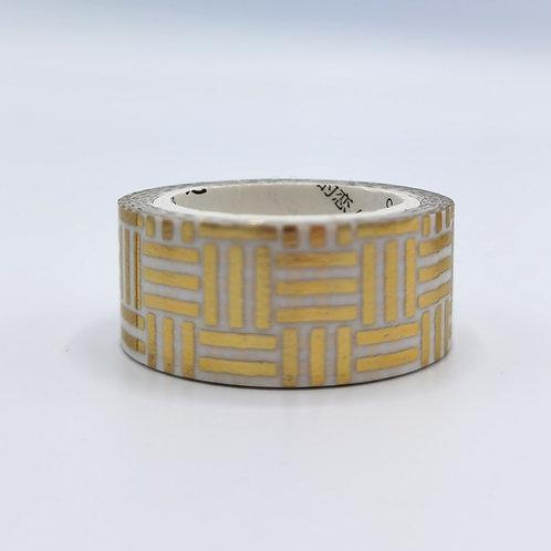 Washi Tape Golden Geometry