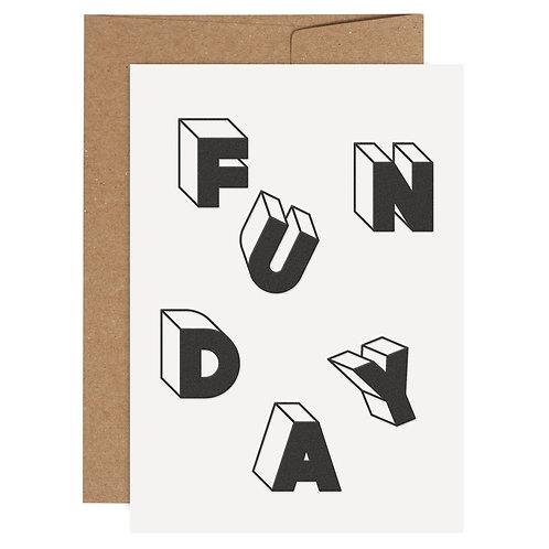 Letterpress mit Umschlag