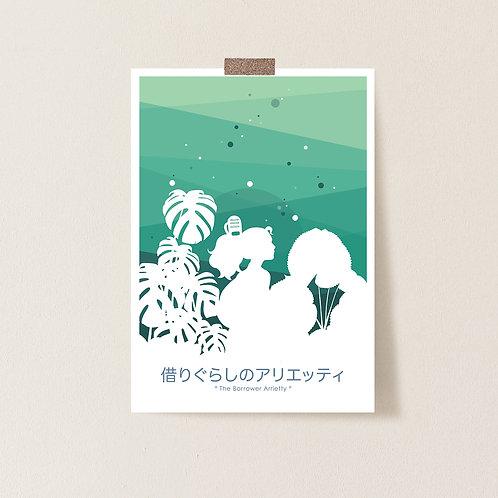 Postkarte 'Arrietty'