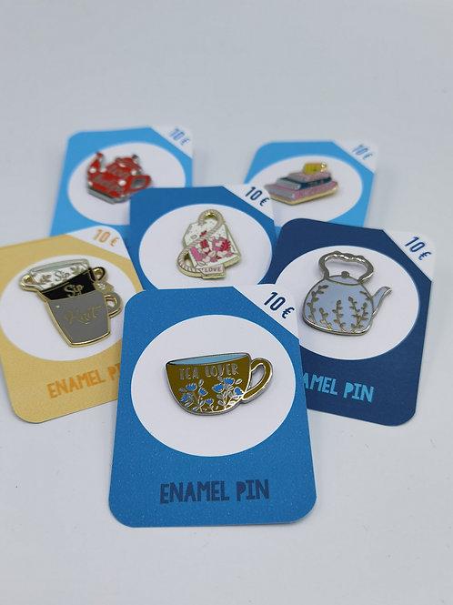 Pins für Tea-Lover