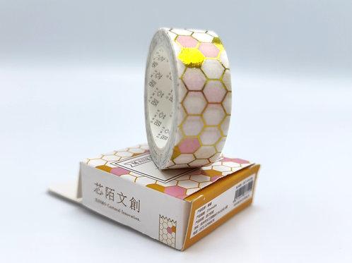 Washi Tape Honeycomb
