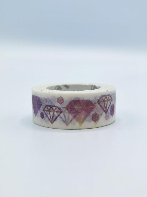 Washi Tape Diamonds