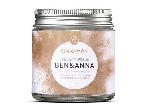 Ben & Anna Zahnpuder Cinnamon