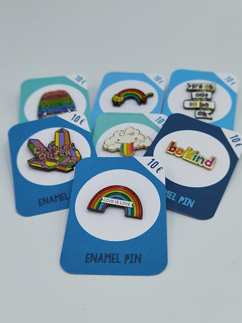 LGTBQ+ Pins