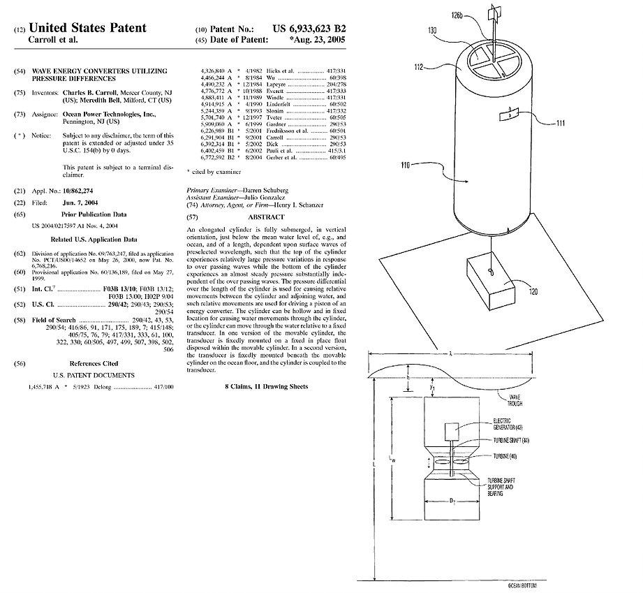 Patent 6 - 2005