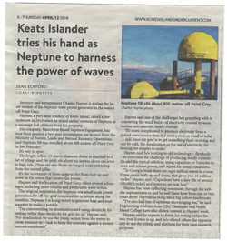 Coast Reporter -- NeptuneWAVE_ca Deploym