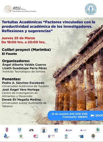 Tertulias Académicas