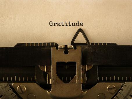 I'm grateful for gratitude