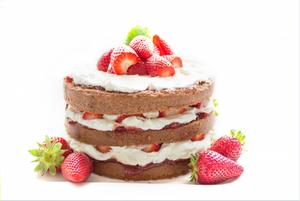 Strawberries, cream and scones