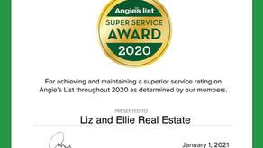 We're Angie's List Super Service Award winners!