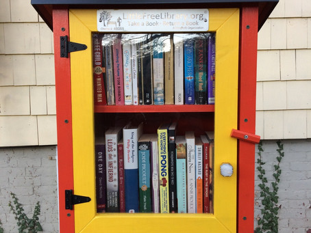 We're a Little Free Library team