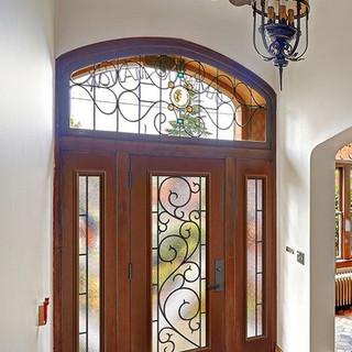 Masonite Entry with Double Side Lights a