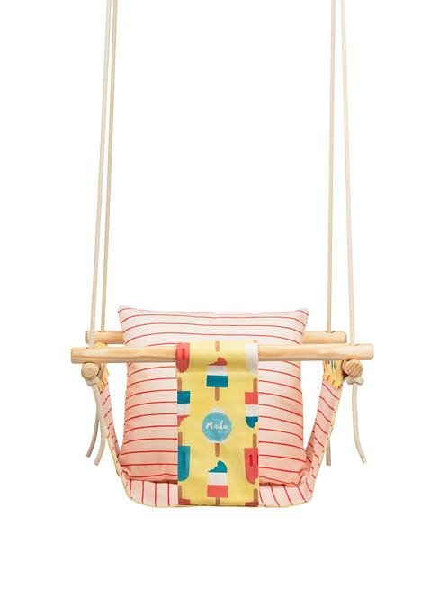 Yellow & Pink Popsicle BabySwing