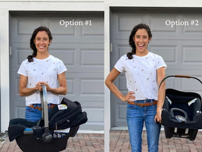 The Top 3 Ways to Carry a Car Seat to Avoid Low Back Pain