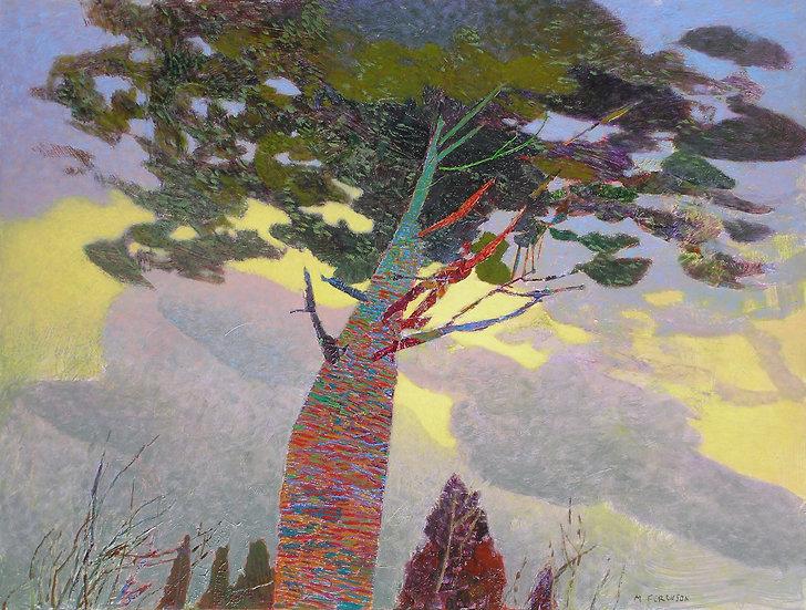 Michael Ferguson Acrylic Painting Blood Tree