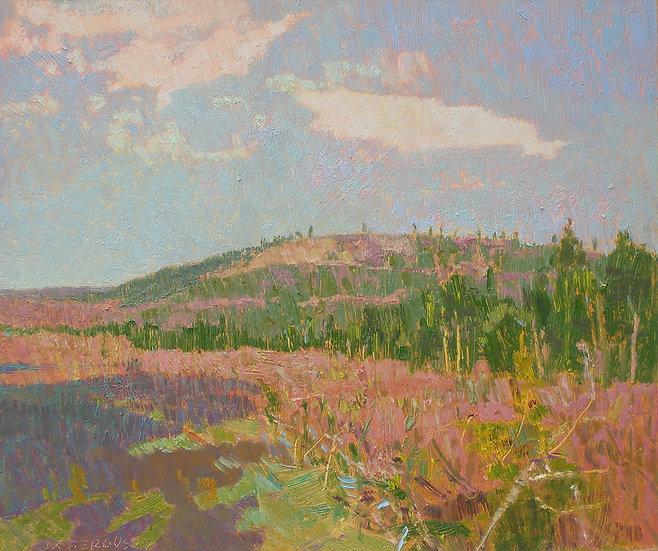 Michael Ferguson Oil Painting Clear Cut I