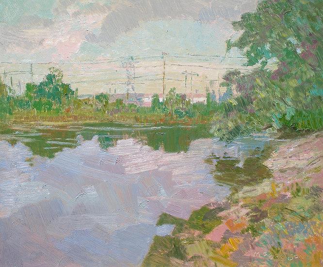 Michael Ferguson Oil Painting Northwind Pier