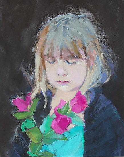 Pastel Ilene Gienger-Stanfield The Gift