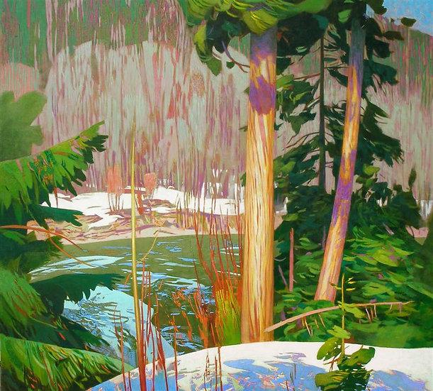 Michael Ferguson Acrylic Painting Ponderosa