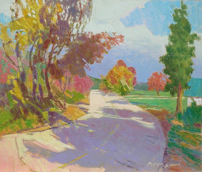 Michael Ferguson Oil Painting River Road
