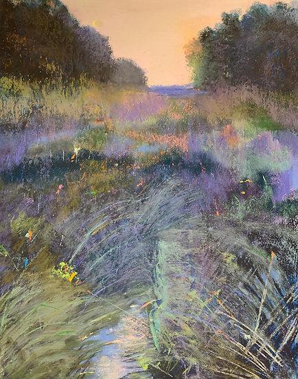 Pastel Eveline Miller Tidal Marsh