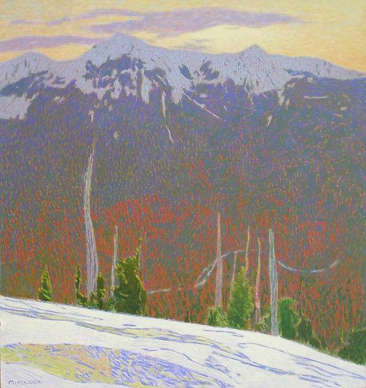 Michael Ferguson Acrylic Painting February Bessemer